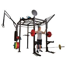 <b>Гексагональная рама</b> для кросс-тренинга <b>Body</b> Solid CLUB FULL ...