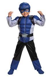 Light Blue Power Ranger Costume Kid Power Rangers Beast Morphers Classic Blue Ranger Costume
