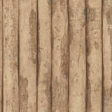 Norwall Log Cabin Vinyl Roll Wallpaper ...