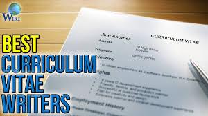 Curriculum Vitae Writer 3 Best Curriculum Vitae Writers 2017 Youtube