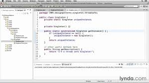 Singleton Pattern In Java Simple Decorating