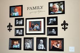 picture frame wall decor ideas for fine ideas for decorating a wall with family custom on family picture frame wall art with picture frame wall decor ideas inspiring exemplary ideas about frame
