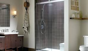 diy tile shower walls for concrete custom pan prep best liner floor preparing replacing scenic tile