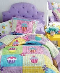 Little girl's Quilted Cupcake Bedding | Princess ♛ Sugar & Spice ... & Cupcake Quilt Bedding purple and mint Adamdwight.com