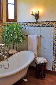 Spanish style home traditional-bathroom