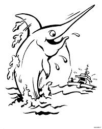 Pesce Spada Disegni Per Bambini Da Colorare