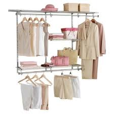 deep closet shelves double hanging rods wall mount rack 48 x 36 72 storage space