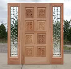 china double glass 8 panel exterior solid wooden door china morden solid wood enterior or interior door solid hardwood door