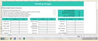 The Best Wedding Budget Spreadsheets For 2019 Benzinga