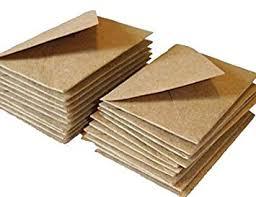 C7 Small Mini Envelopes Recycled Kraft Fleck 100 Pack Amazon Co