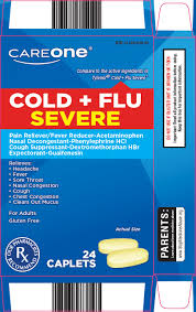 Tylenol Cold And Flu Severe Dosage Chart Careone Cold Plus Flu Severe Tablet Film Coated American