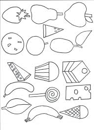 Very Hungry Caterpillar Coloring Page 5 Butterfly Colouring