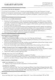 Military To Civilian Resume Beautiful 21 Best Sample Resumes Images