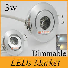 high power 3w mini led ceiling downlight led recessed spot lights dimmable led exhibition lamp display