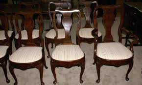 antique dining room chairs brilliant set of queen burl walnut antique dining room chairs antique dining