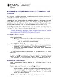 Apa Reference System Citation Apa Style