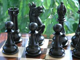 the ultimate chess set in ebony wood king size 6 inch x2019