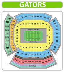 Prototypal Florida Football Stadium Seating Chart 2019