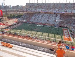 Darrell K Royal Texas Memorial Stadium Section 126 Seat