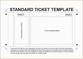 Ticket Template Printable Ferdin Yasamayolver Com Free Event