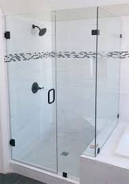heavy glass shower door installation ca frameless cost doors enclosures