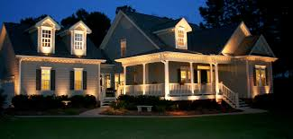 Proper Exterior Lighting Creates Curb Appeal And Makes A Home Safer - Exterior residential lighting