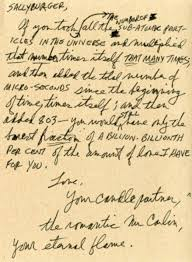 Short Love Letter The Romantic George Carlin Writes A Nano Powered Sub Atomic Filled