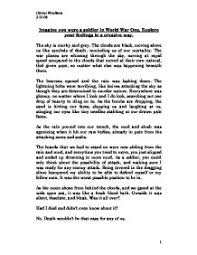 creative writing sample essays madrat co creative writing sample essays