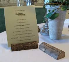 table card holders. wood place card holders. hctls58v; rustic placecard home\u003etabletop table holders r