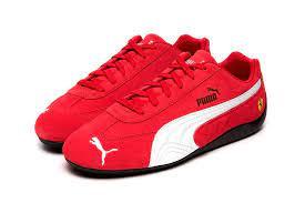 Puma sf cell venom!!!go half size up Ferrari X Puma Speedcat Rosso Corsa Puma Black Hypebeast