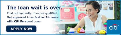 Online Loan Calculator Citi Personal Loan Citibank
