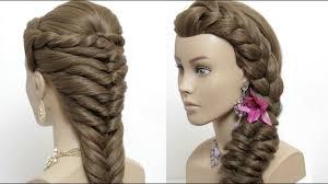2 Easy Hairstyles For Long Hair Tutorial Cute Summer Braids Youtube