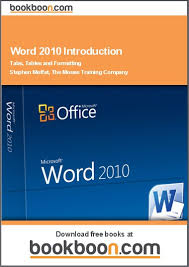 Microsoft Word 2010 Introduction Tabs Tables And Formatting Free