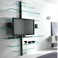corner shelves wall shelving units tv unit with glass contemporary stand ideas for stylish living area