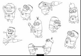 Small Picture Remarkable bob minion coloring pages with minions coloring pages