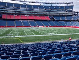 Gillette Stadium Section 111 Seat Views Seatgeek