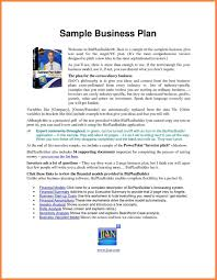 Examples Of Essay Plans Example Proposal Modest Business Plan