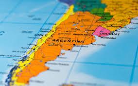 Sfondi del desktop Mappa Cile Argentina South America 1920x1200