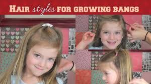 Growing Out Hair Style kid tip growing out bangs hairstyles youtube 6626 by stevesalt.us