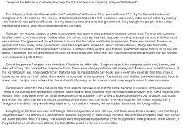 essay the articles of confederation at com essay on essay the articles of confederation
