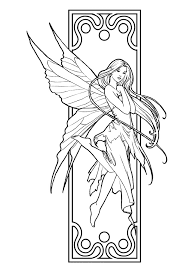 Small Picture Fantasy fairy coloring pages ColoringStar
