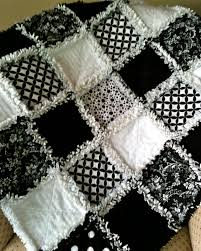 ZeedleBeez: Black and White Rag Quilts & I started making black and white baby rag quilts because back in the day  black and white graphic patterns were supposed to be so good for babies  developing ... Adamdwight.com