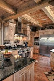 best 25 rustic cabin kitchens ideas