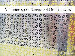 perforated sheet metal lowes remodelaholic decorative dresser makeover