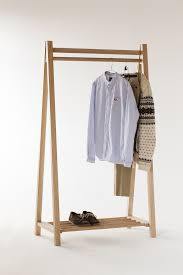 attractive wooden clothes rack 47 rolling racks furniture homemade