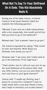 What Not To Say To Your Girlfriend On Date Night This Is Hilarious