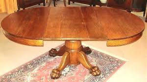 claw foot dining table oak table for antique oak dining table antique table and chairs