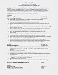 Community Outreach Specialist Resume - Sample Resume