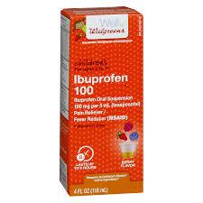 Walgreens Childrens Ibuprofen 100 Oral Suspension Berry