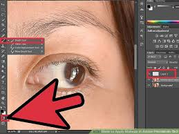 image led apply makeup in adobe photo cs3 step 1